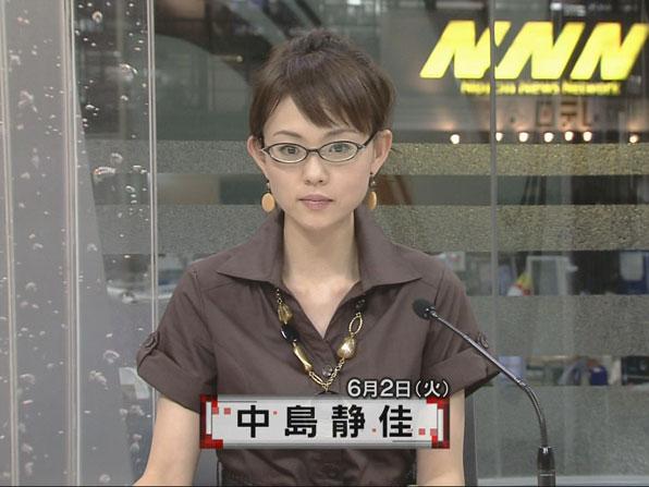 眼鏡をかけた美人女子アナウンサー画像90
