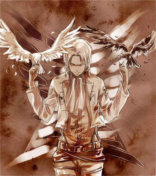 進撃の巨人のファンアート画像127