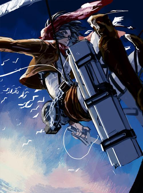 進撃の巨人のファンアート画像143