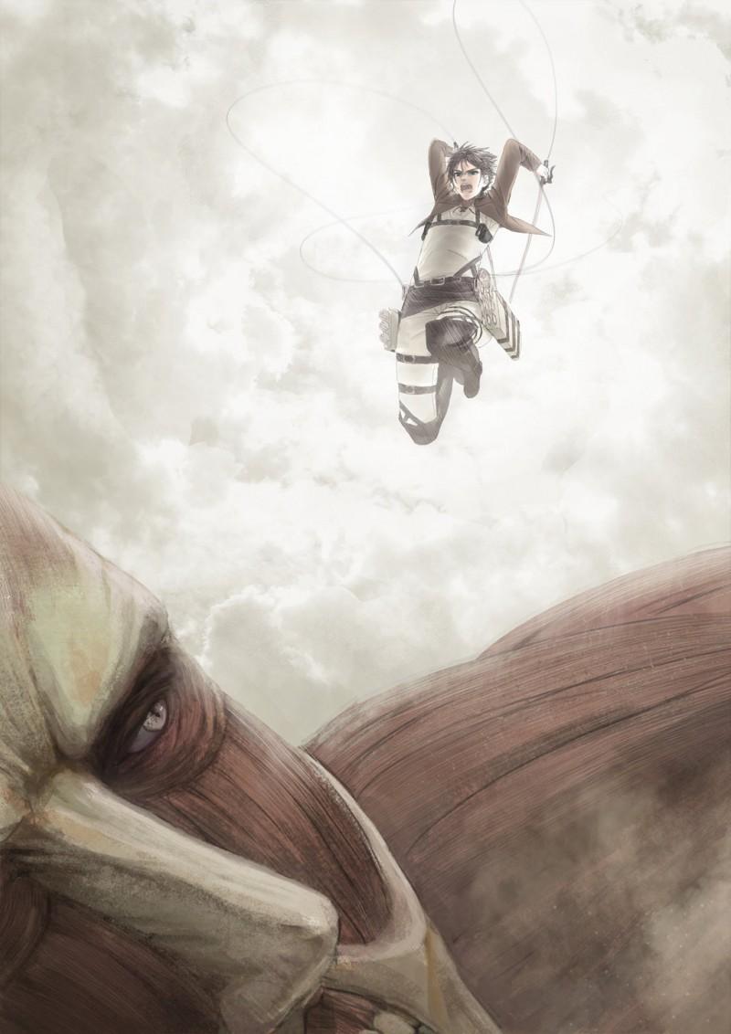 進撃の巨人のファンアート画像182