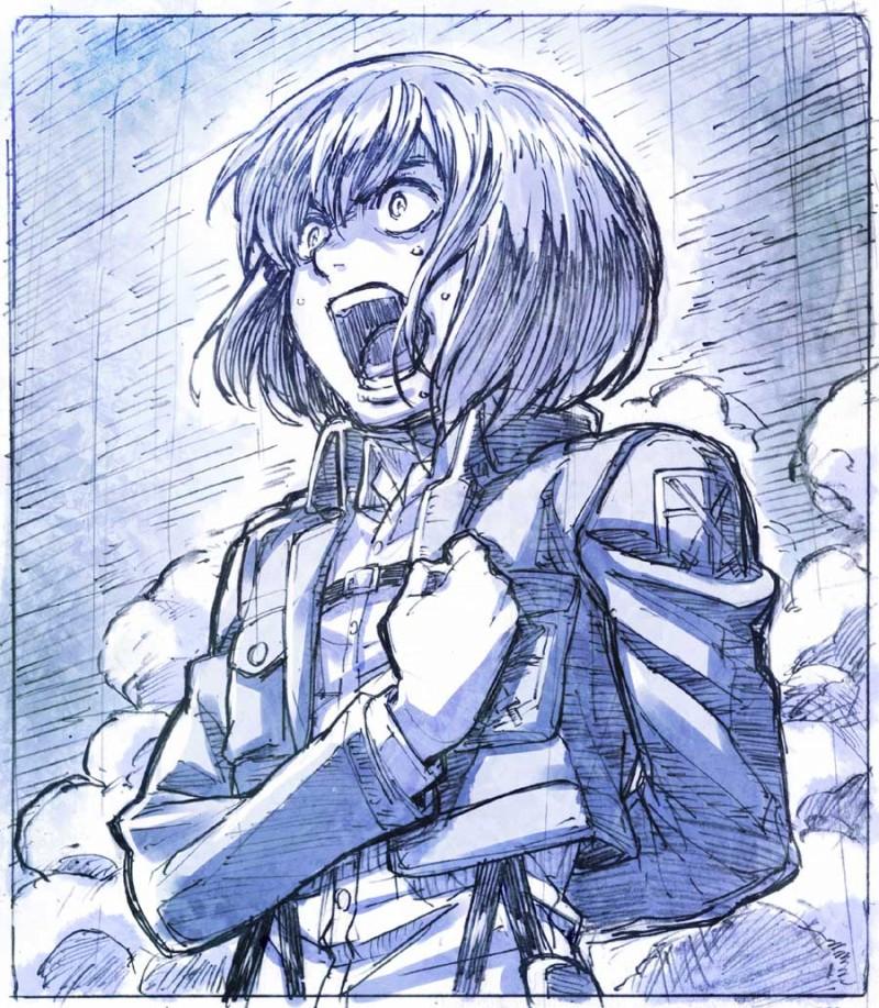 進撃の巨人のファンアート画像191