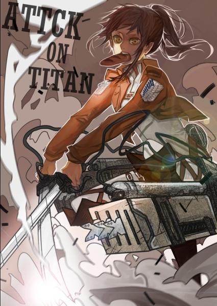 進撃の巨人のファンアート画像192