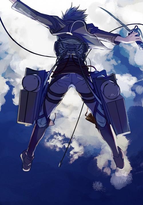 進撃の巨人のファンアート画像226