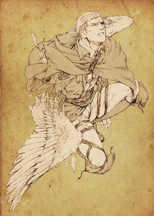 進撃の巨人のファンアート画像23