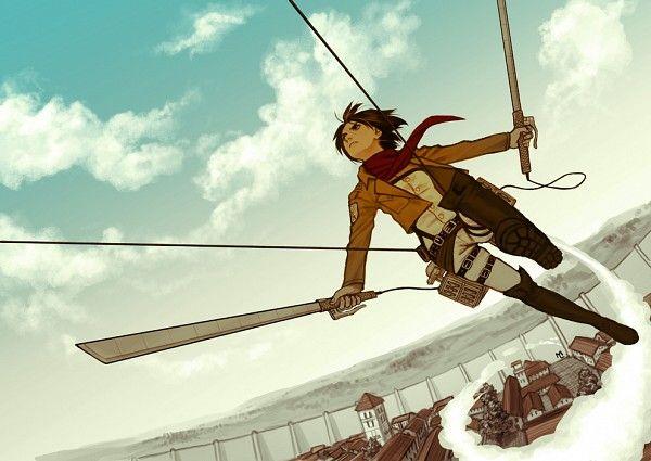 進撃の巨人のファンアート画像280
