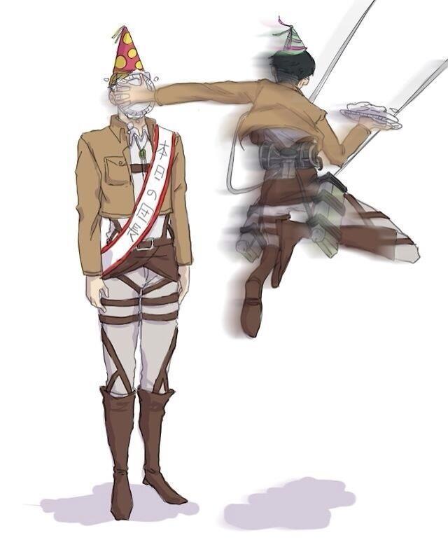 進撃の巨人のファンアート画像42