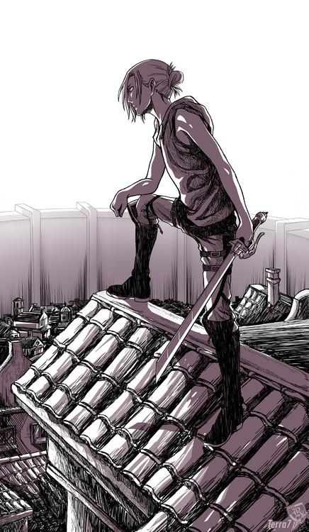 進撃の巨人のファンアート画像58