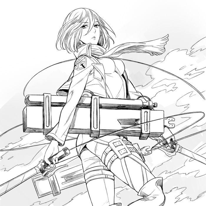 進撃の巨人のファンアート画像623