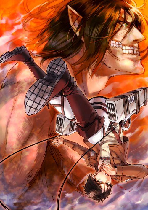 進撃の巨人のファンアート画像710