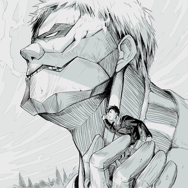 進撃の巨人のファンアート画像940
