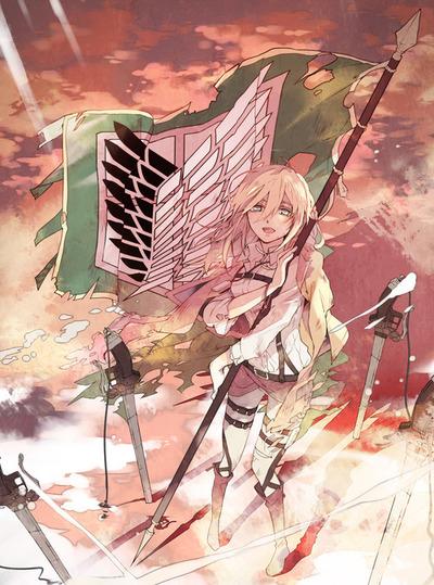 進撃の巨人のファンアート画像95