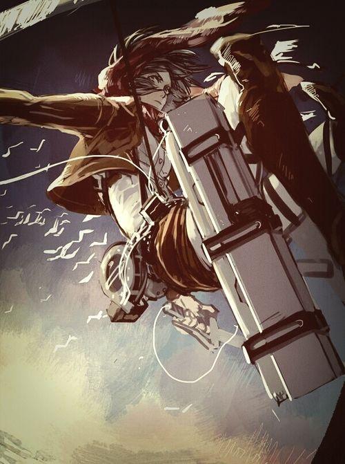 進撃の巨人のファンアート画像961