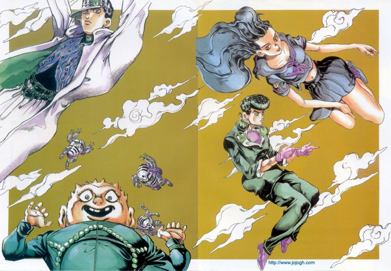 ジョジョの奇妙な冒険7