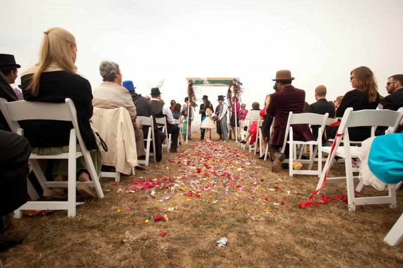 不思議の国のアリスっぽい結婚式が素敵な画像110