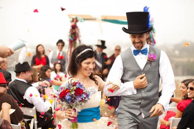 不思議の国のアリスっぽい結婚式が素敵な画像111