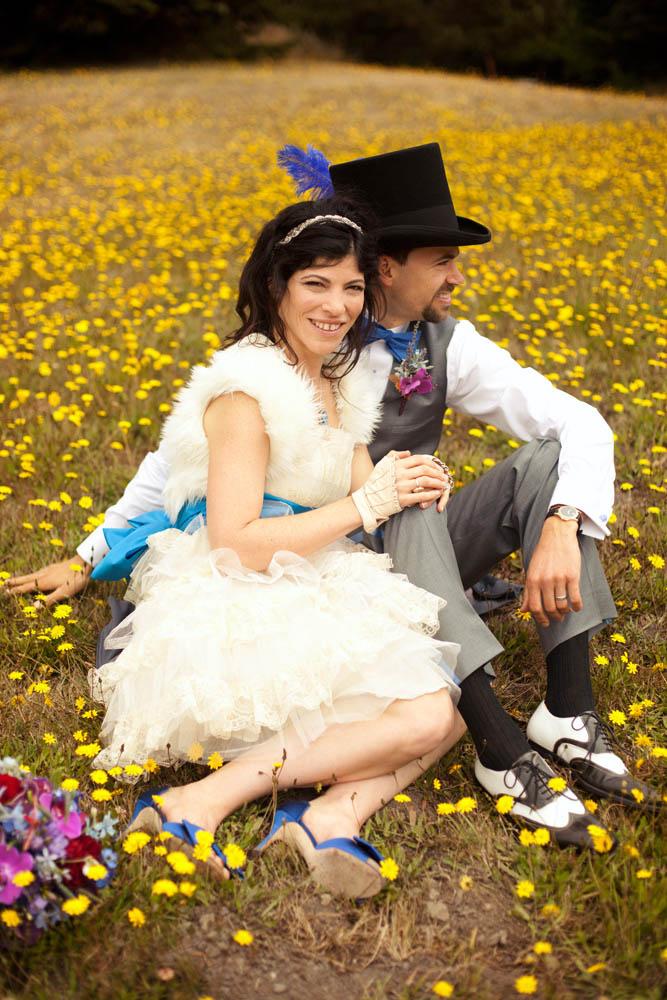 不思議の国のアリスっぽい結婚式が素敵な画像115