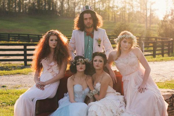 不思議の国のアリスっぽい結婚式が素敵な画像35
