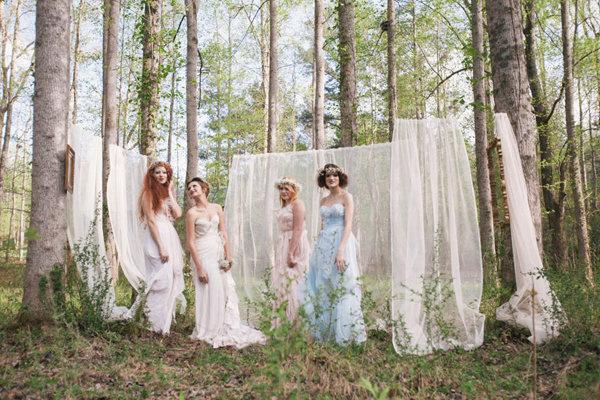 不思議の国のアリスっぽい結婚式が素敵な画像38