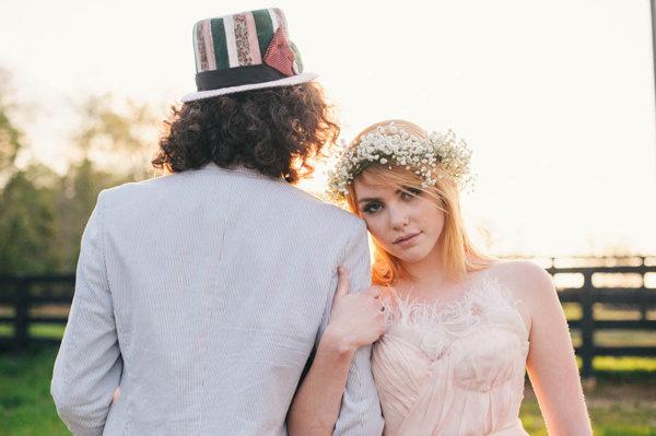 不思議の国のアリスっぽい結婚式が素敵な画像39