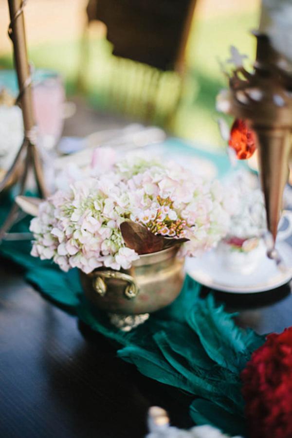 不思議の国のアリスっぽい結婚式が素敵な画像42