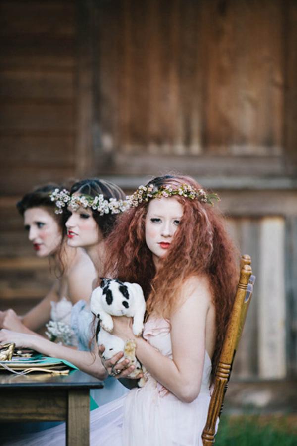 不思議の国のアリスっぽい結婚式が素敵な画像43