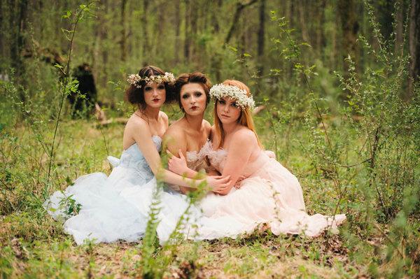 不思議の国のアリスっぽい結婚式が素敵な画像44