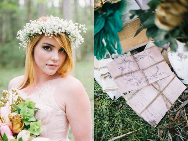 不思議の国のアリスっぽい結婚式が素敵な画像46