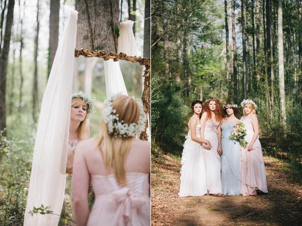 不思議の国のアリスっぽい結婚式が素敵な画像48