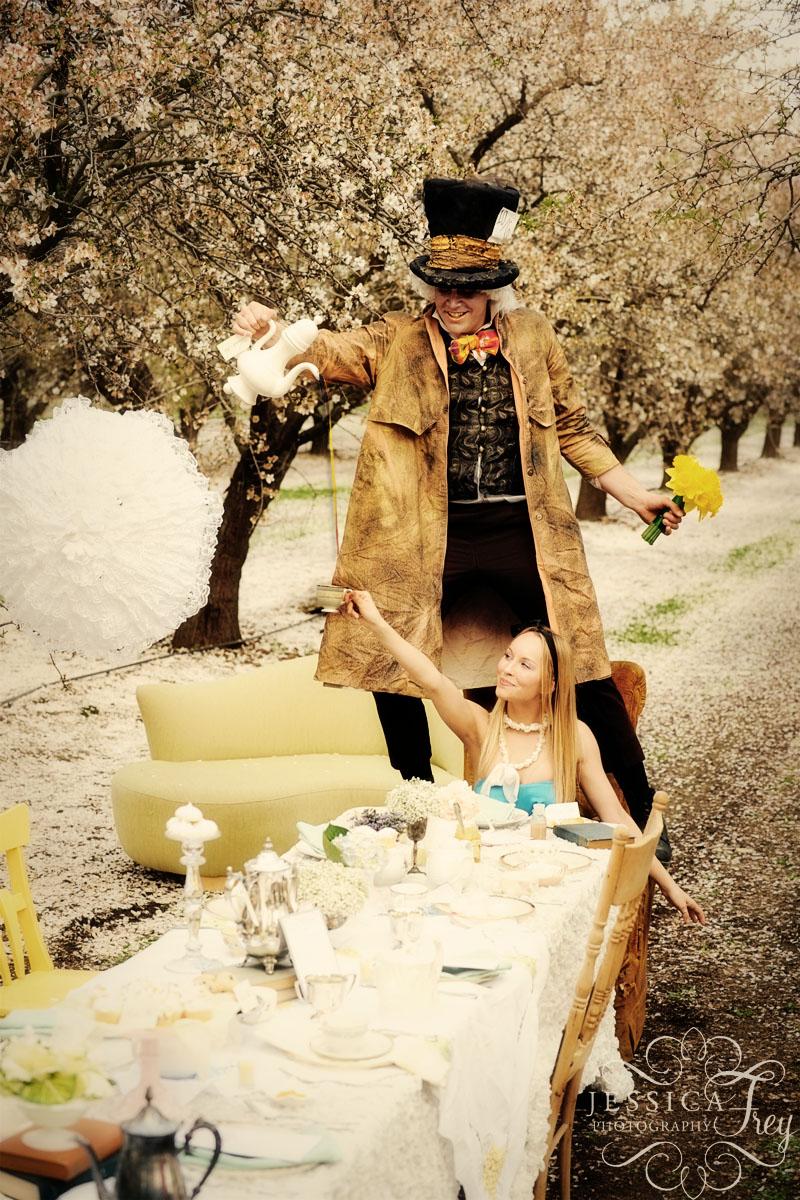 不思議の国のアリスっぽい結婚式が素敵な画像52