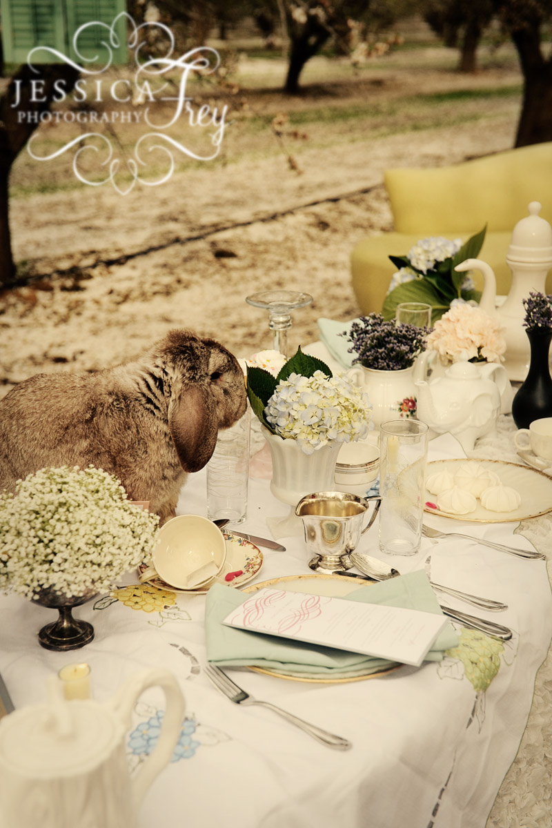 不思議の国のアリスっぽい結婚式が素敵な画像58