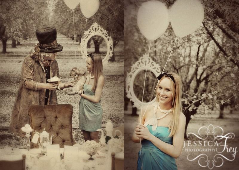 不思議の国のアリスっぽい結婚式が素敵な画像60