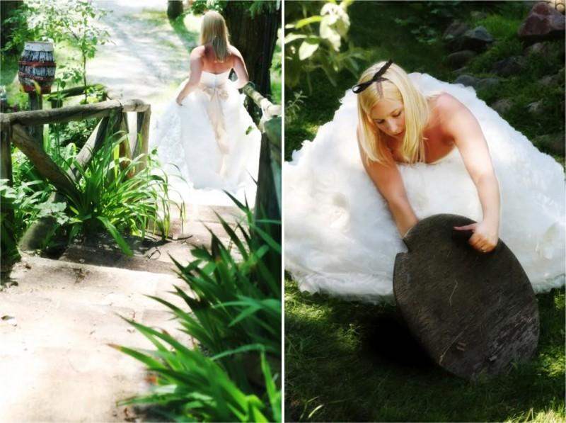 不思議の国のアリスっぽい結婚式が素敵な画像87