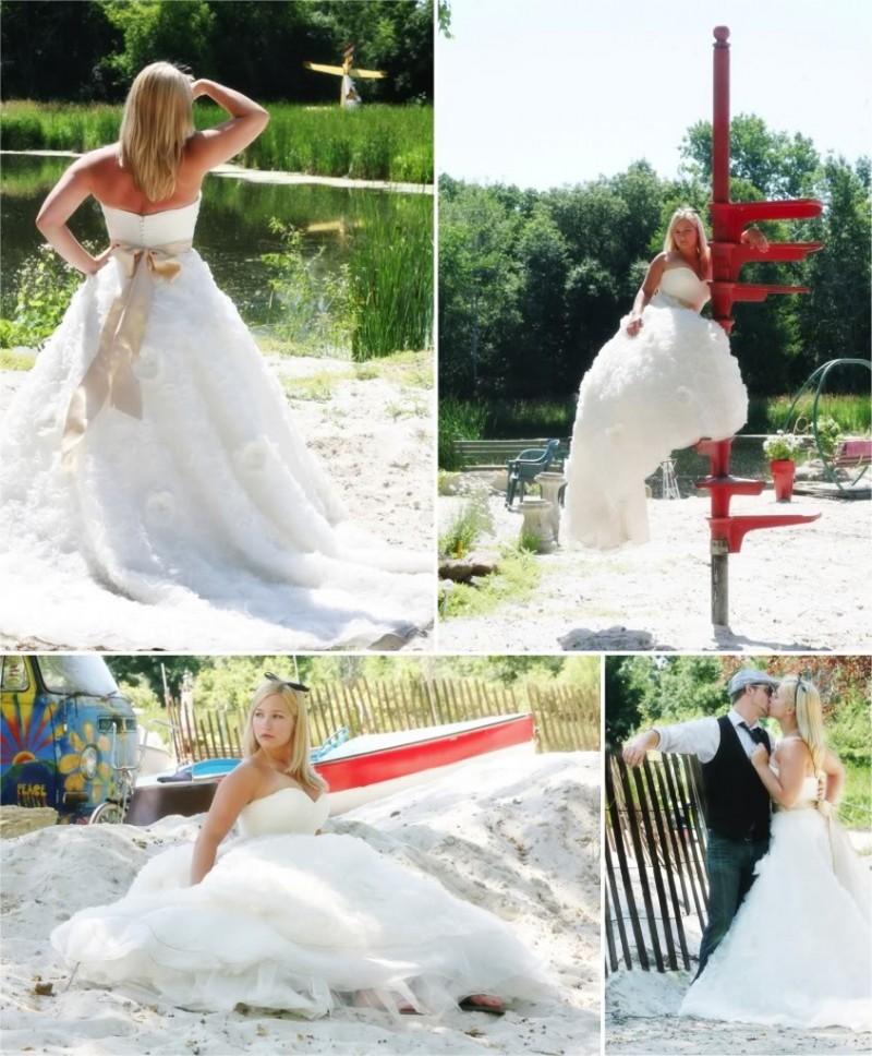 不思議の国のアリスっぽい結婚式が素敵な画像89