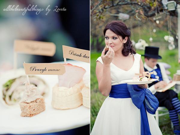 不思議の国のアリスっぽい結婚式が素敵な画像9