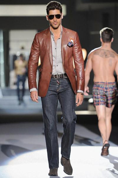 DSquared2: Milan Fashion Week Menswear S/S 2010