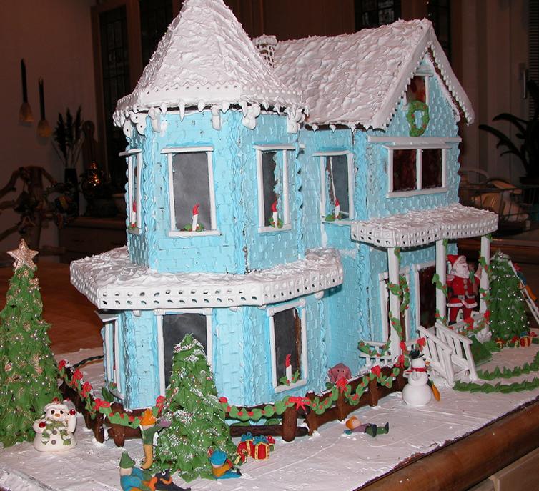 お菓子の家40754
