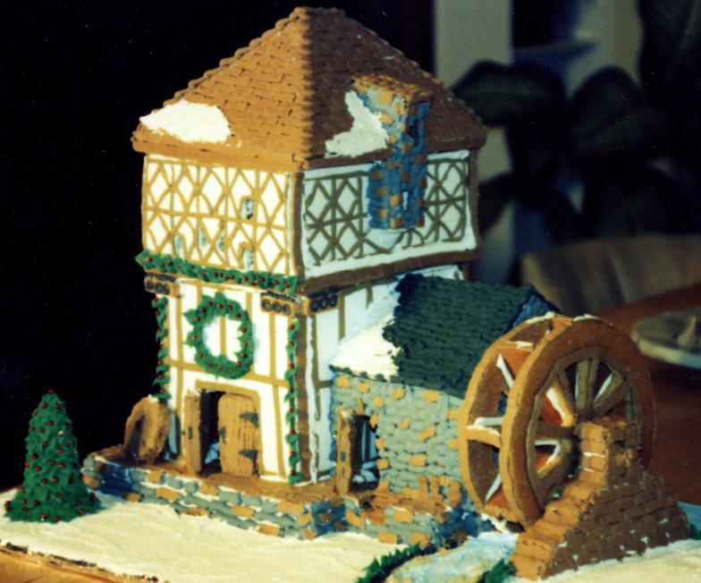 お菓子の家45784