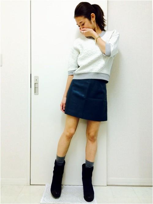 レザースカート21