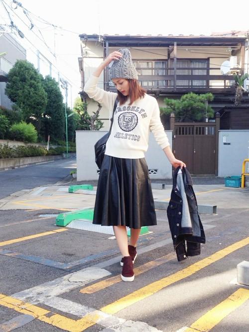 レザースカート22
