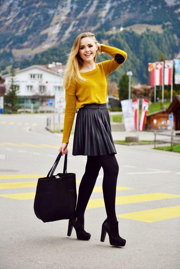 レザースカート7