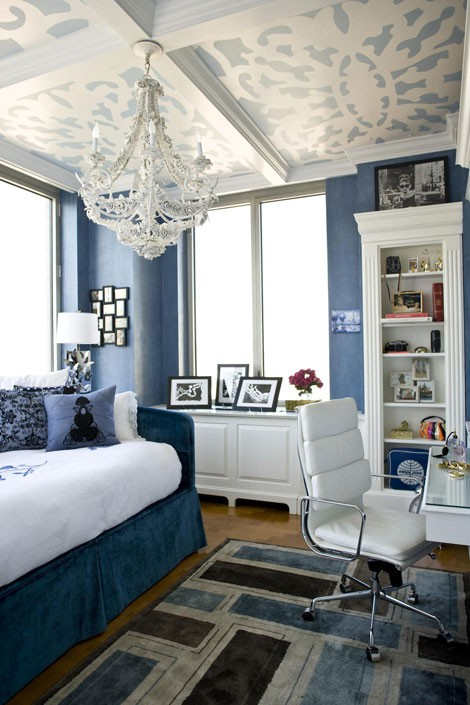 青い部屋91