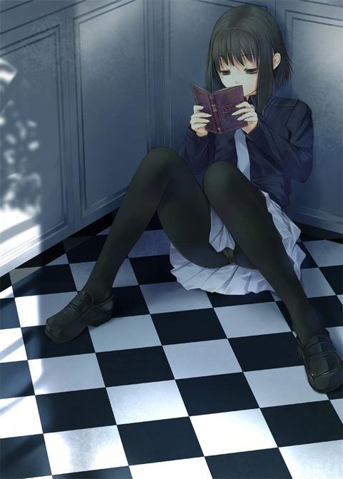 ネクタイをしている二次元美少女画像18