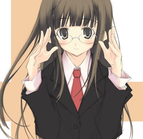 ネクタイをしている二次元美少女画像7