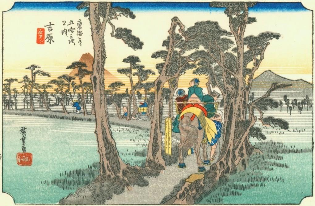 浮世絵の壁紙37