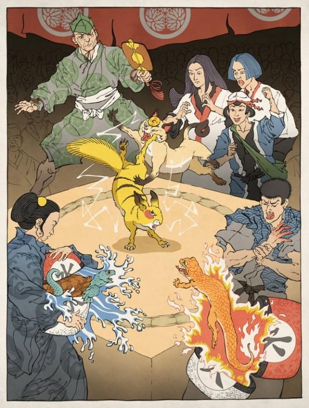 浮世絵ヒーロー5