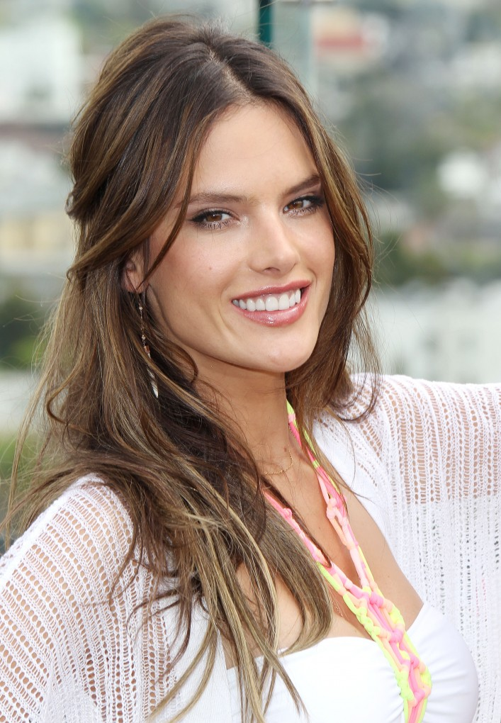 Victoria's Secret 2014 Swim Collection Launch Angels Alessandra Ambrosio And Behati Prinsloo