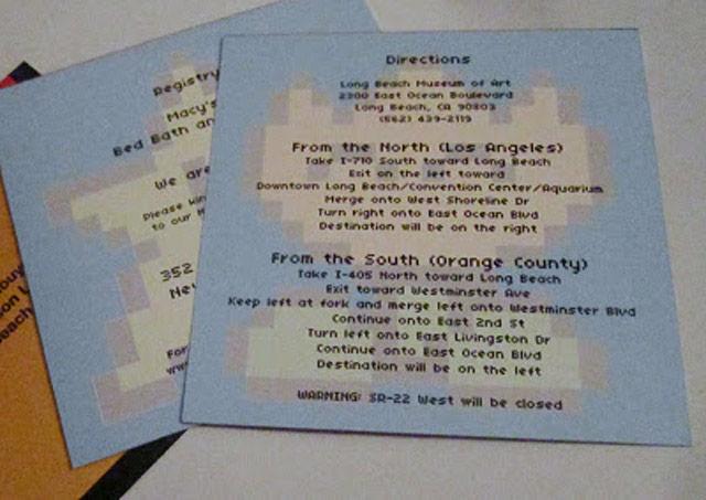 マリオの結婚式招待状28