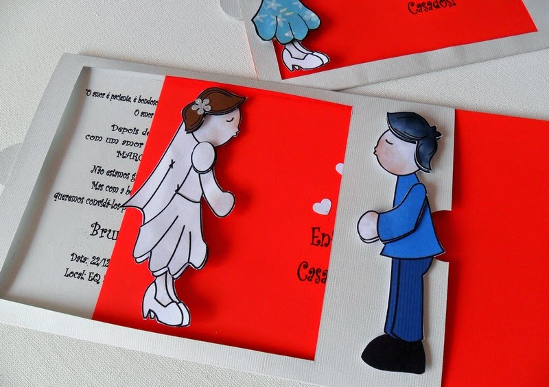 結婚式の招待状2