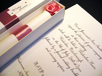 結婚式の招待状50