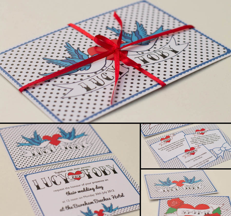 結婚式の招待状54